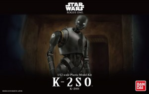 Bandai Star Wars K-2SO 1/12 Scale Plastic Model Kit -Rogue One - K-2SO