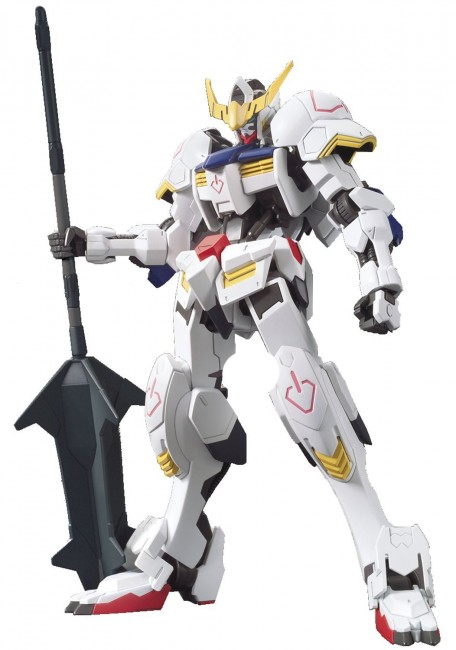 "Bandai Hobby HG Orphans Gundam Barbatos ""Gundam Iron-Blooded Orphans"" Action Figure - 201873"