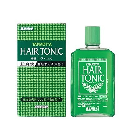 YANAGIYA SCALP-HAIR TONIC 240/360ML HAIR LOSS Hair Growth Tonic Treatment - 240ml - 295420