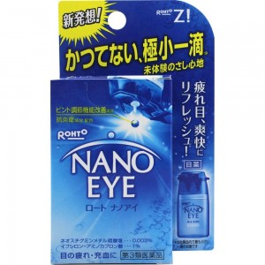 Rohto ROHTO NANO EYE Eye Drops 6ml Japan - 4987241127733