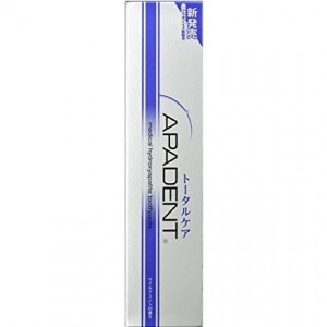 APAGARD Apadent Total Care Toothpaste Medical Hydroxyapatite Mild mint 120g - 4987643123043