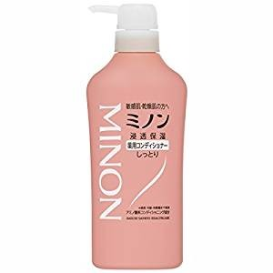 JAPAN Daiichi-Sankyo MINON Medicated Hair Shampoo / Conditioner - Hair Conditioner -450ml - 4987107617422