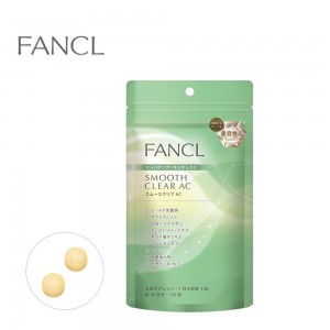 FANCL Smooth Clear AC 30 Days Acne Care Supplement - 4908049347338